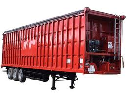 Ribbed Container Trailer
