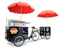 Hot Dog Stand Cart