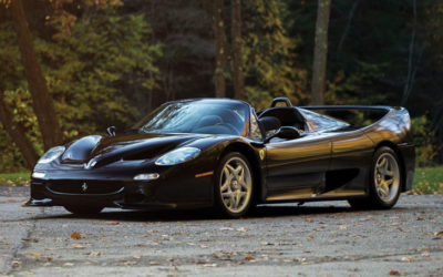 For a few million bucks, you can own one of the four Nero Ferrari F50s