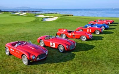 Pebble Beach Concours d'Elegance to Host Premier North American Celebration of Ferrari 70th Anniversary