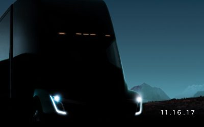 Tesla to Unveil Class 8 Electric Truck