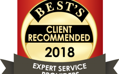 "A.M. Best recognizes DCI Solution once again in 2018 as a ""Recommended Expert Service Provider"""
