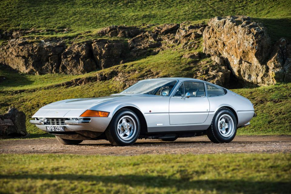 Classic 1970s Ferrari Daytona with 175mph top speed and painted in ...